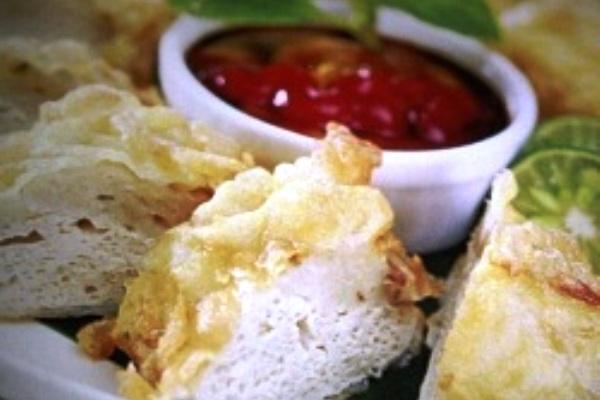 Fish Tofu with Peanut Sauce. Nusantara Culinary