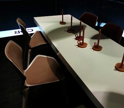Shrimp Stuhl von COR auf der Kölner Möbelmesse imm cologne 2013