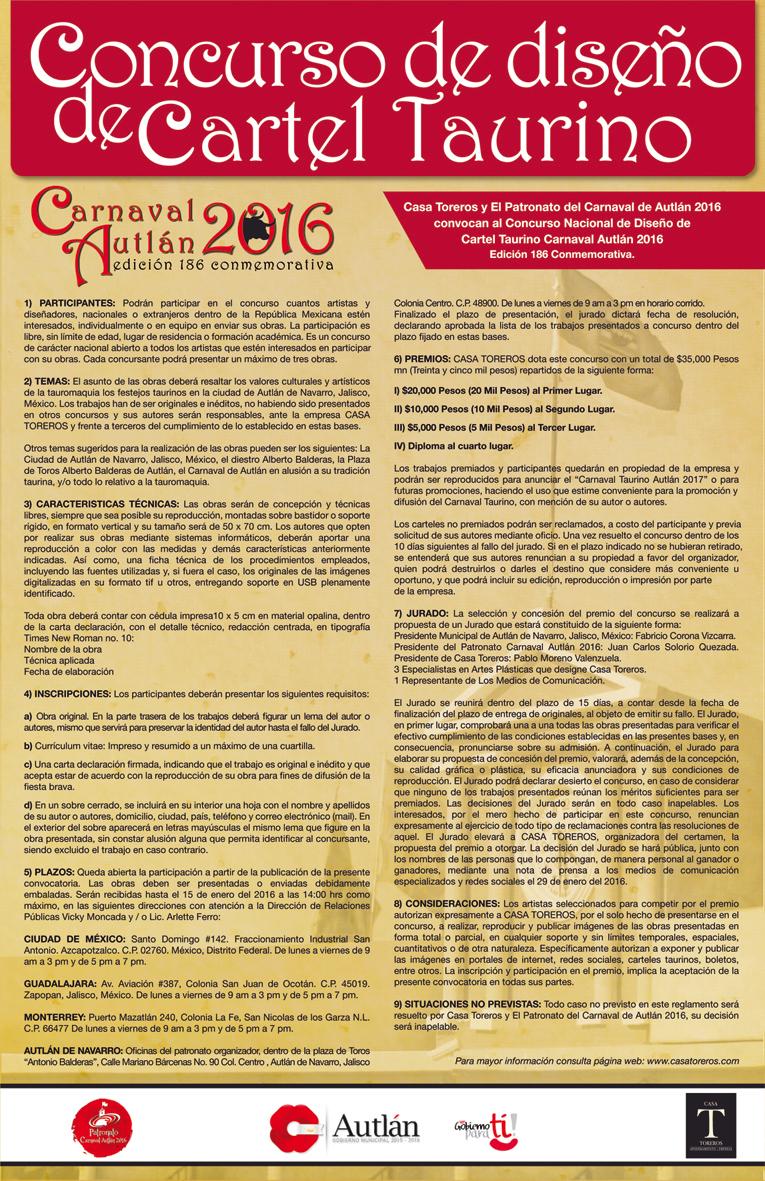 Culturautl n convocatoria a concurso de dise o de cartel for Convocatoria concurso de docentes 2016