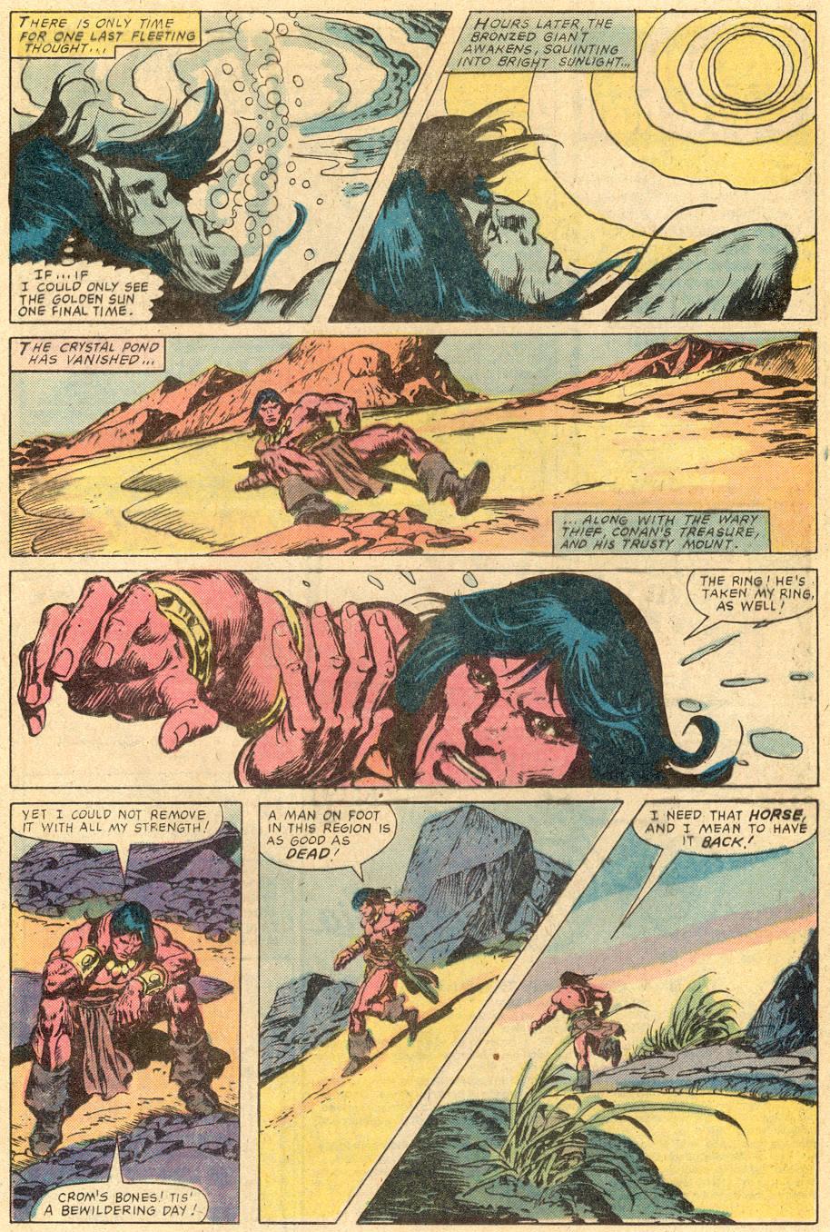 Conan the Barbarian (1970) Issue #131 #143 - English 10