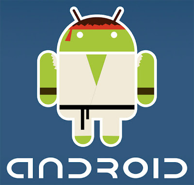 Imagen de la mascota de Android - Ryu