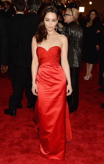 Emilia Clarke Met Ball 2013