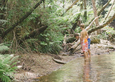 Shannon Hager Photography, Okinawa, Jungle, Fukugawa Falls, Children's Photography