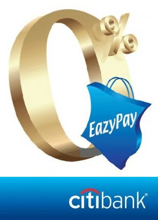 Citibank EazyPay 0%