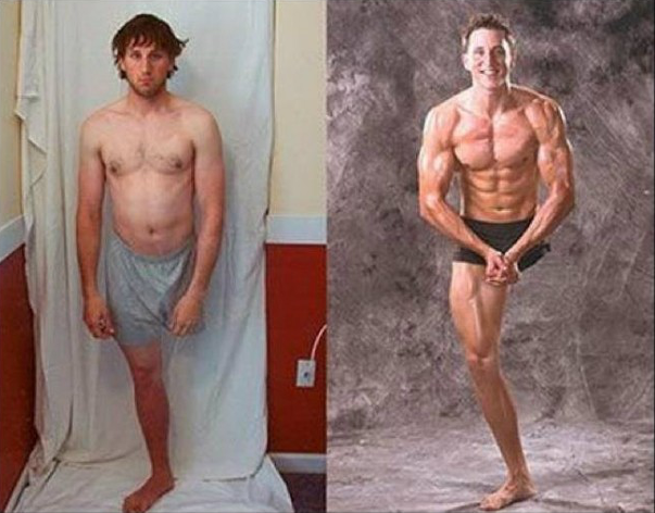 Fitness Motivation Men Before After Before And After by The