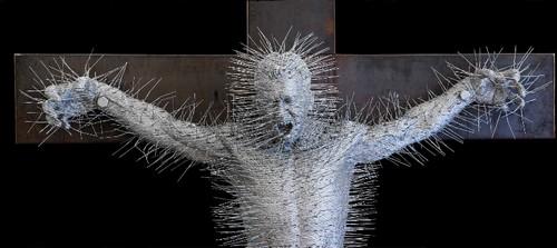 Escultura de David Math