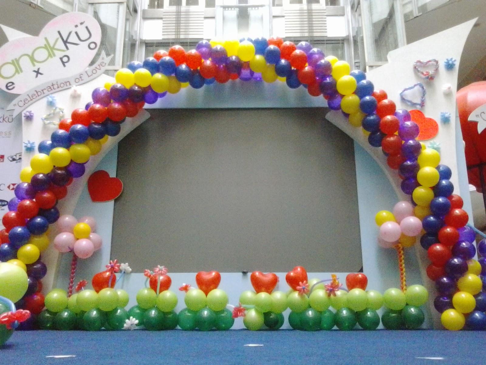 Dekorasi balon ulang tahun murah jakarta for Dekor 17 agustus di hotel