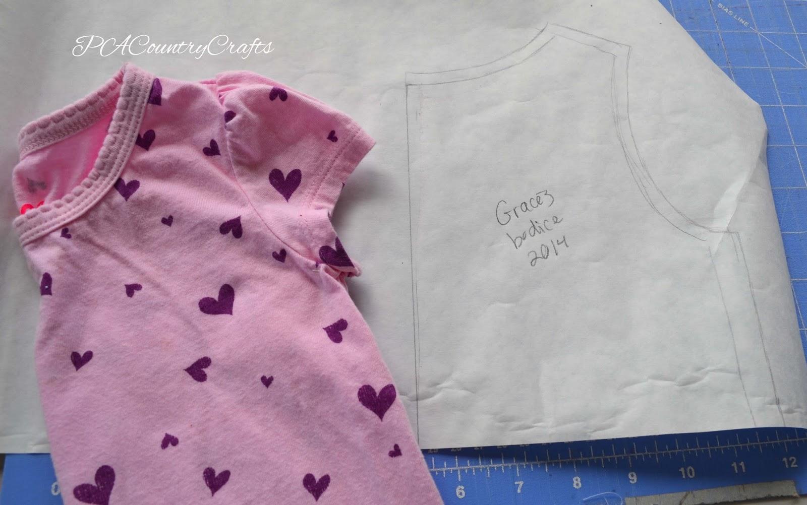 Gracie Dress Tutorial pattern