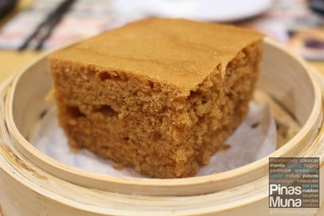 Tim Ho Wan Megamall Steamed Egg Cake