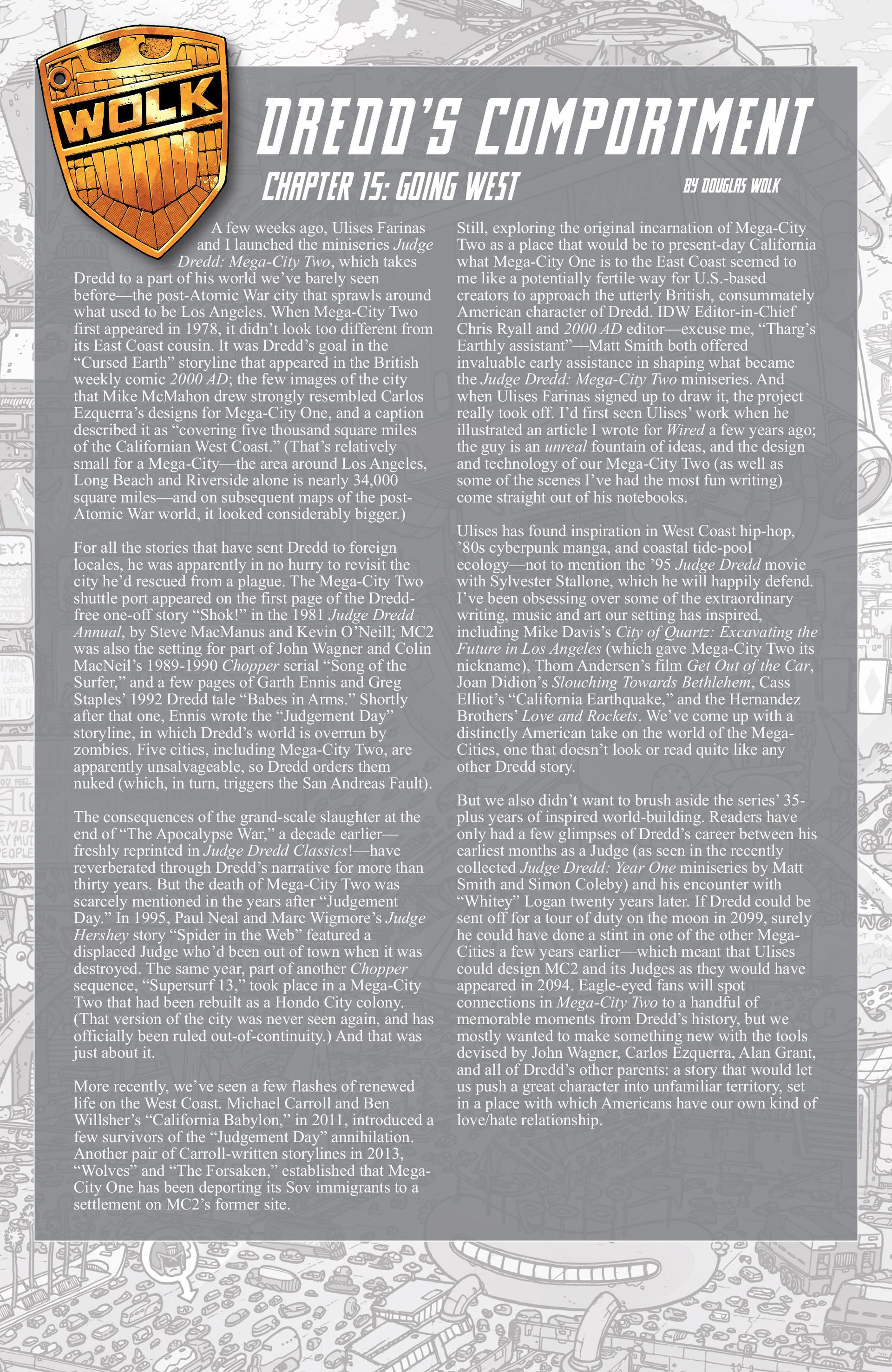 Read online Judge Dredd (2012) comic -  Issue #15 - 23