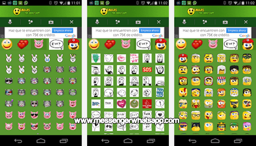 Comparte los emoticones mas divertidos con Emojis for WhatsApp