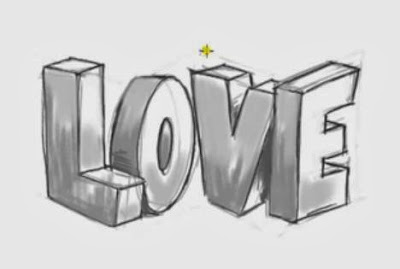 http://funkidos.com/videos-collection/amazing-videos/how-to-draw-3d-love-graffiti-letters
