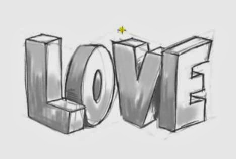 Funchoice How To Draw 3d Love Graffiti Letters