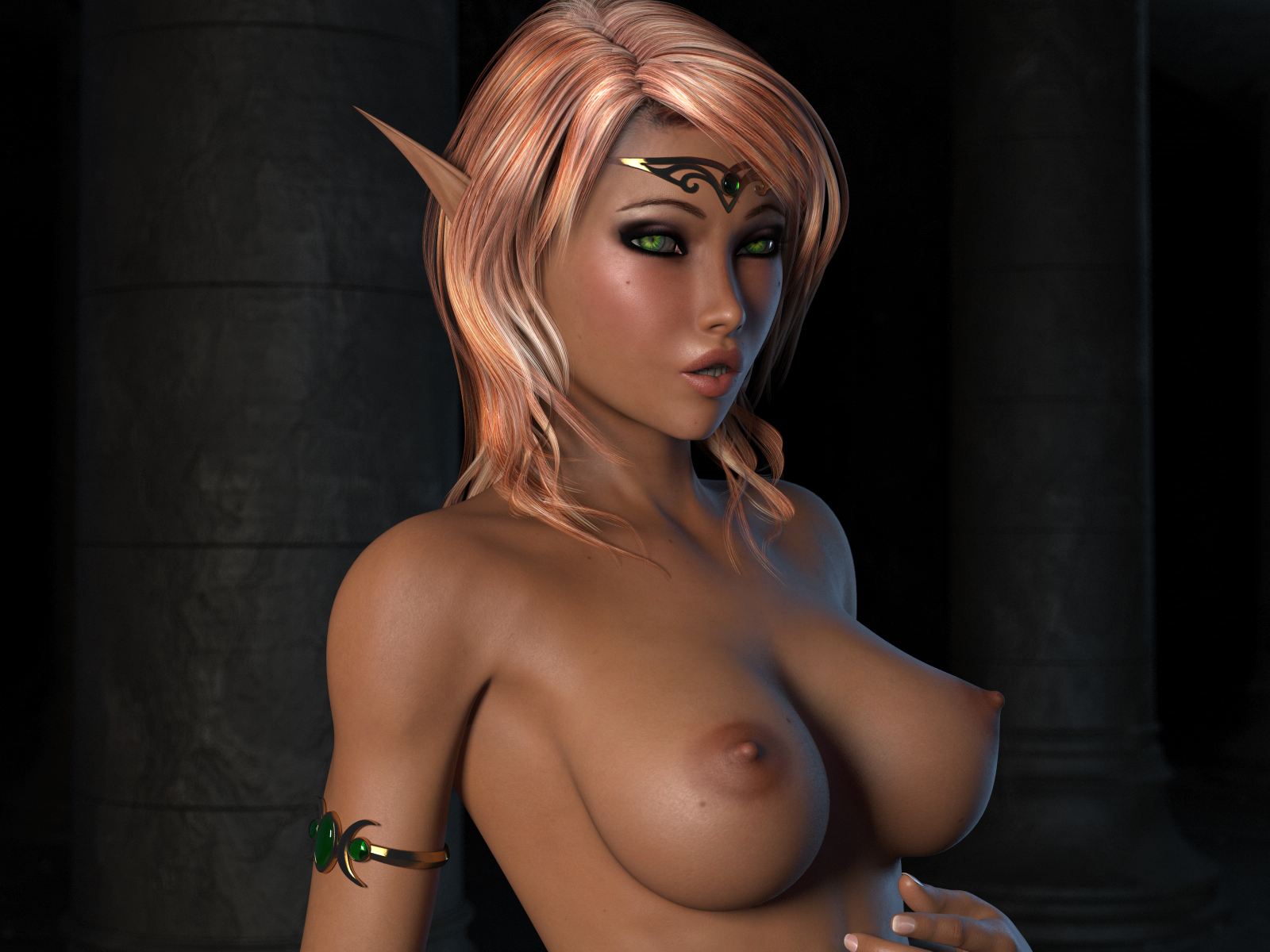 Sexy blonde blood elf nood xxx clips