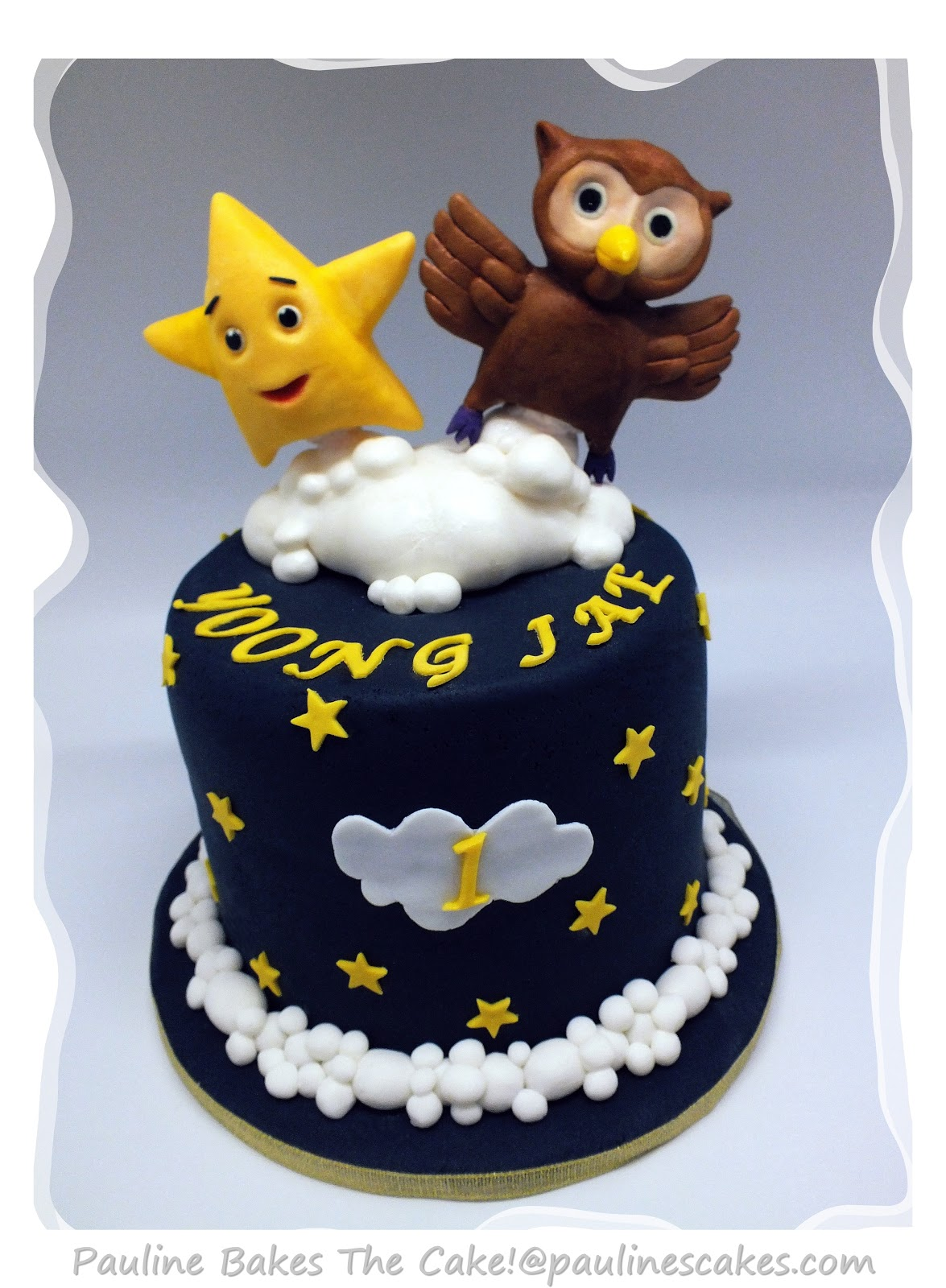 Pauline Bakes The Cake Twinkle Twinkle Little Star And Owl Cake