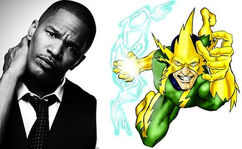 Jamie Foxx (Electro in Amazing Spider-Man 2)