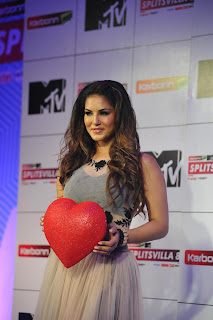 Sunny Leone spotted at MTV Splitsvilla 8 Press meet in a lovely anarkali dress