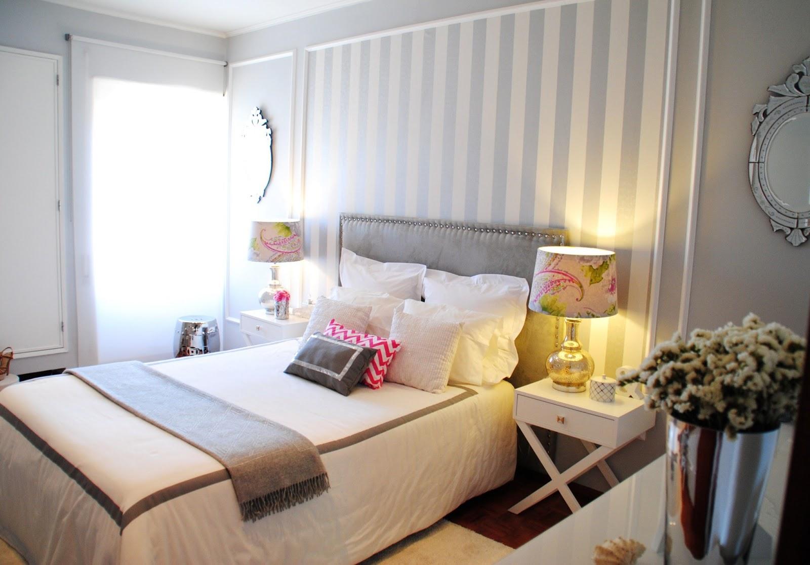 White Glam Master Bedroom Projeto White Glam