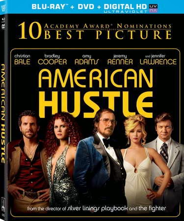 American Hustle (Two Disc Combo: Blu-ray / DVD +Ultraviolet Digital Copy) with Christian Bale and Jennifer Lawrence