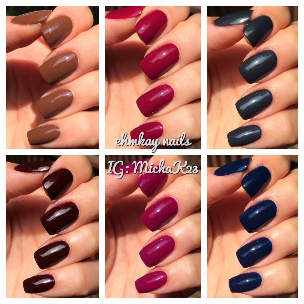 ehmkay nails: Zoya Entice Collection for Fall 2014: Swatches and Review