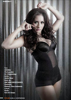 Shinta Bachir for Male Magazine, November 2012