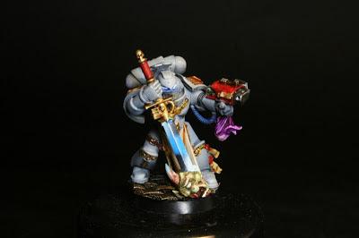 Pintado de la espada del justicar