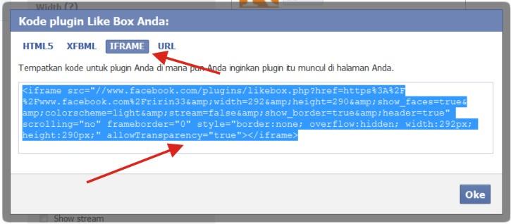 Cara Membuat dan Pasang Widget Kotak Like Halaman FB di Blog