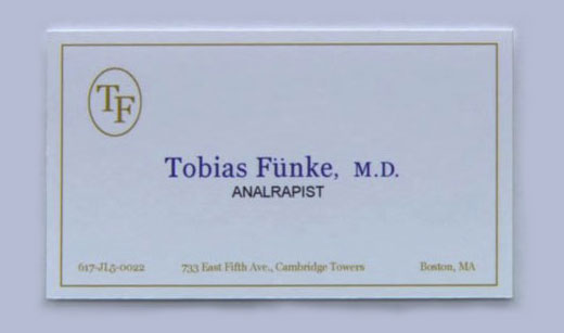 Politics and media gator don39t play no shit for Tobias business card