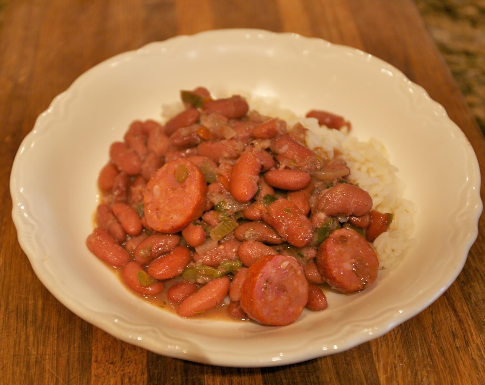 Octoberfarm: Cajun Red Beans and Rice in a Slow Cooker