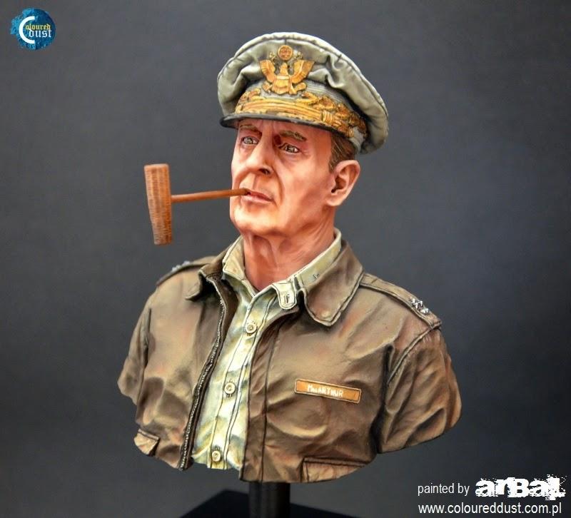Gen Douglas Macarthur Coloured Dust