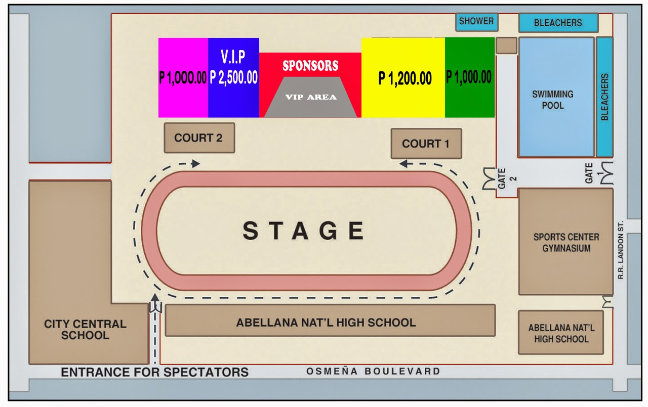 Buy sinulog 2015 grandstand tickets online prices and - Abellana sports complex swimming pool ...