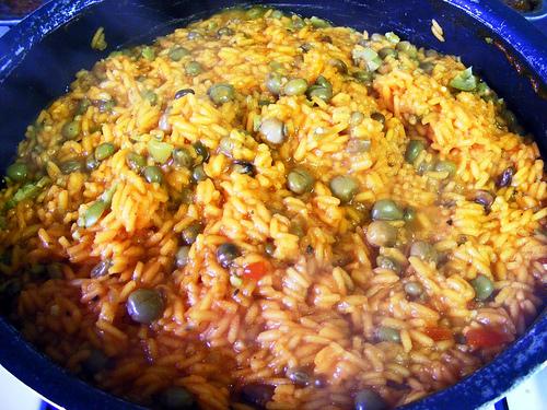 Recetas saludables de Arroz con gandules puertorriqueño