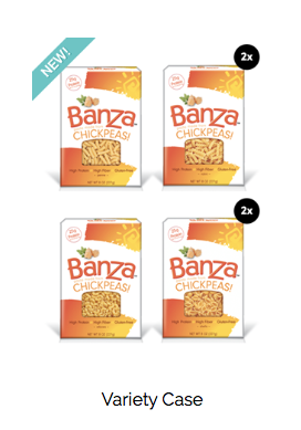 BANZA: Pasta made from chickpeas