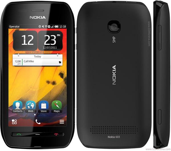 Review Harga Handphone Nokia 603 HP Touchscreen Terbaru 2012