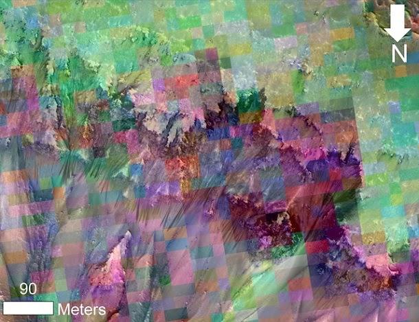 Água líquida pode ter sido descoberta em Marte