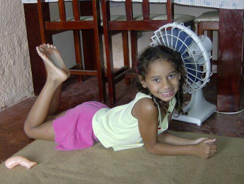Vitória filha de Sergio Coutinho