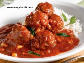 Resep Cara Membuat Semur Bola Daging Enak Praktis, resep bola daging kentang, cincang, daging ayam, daging sapi