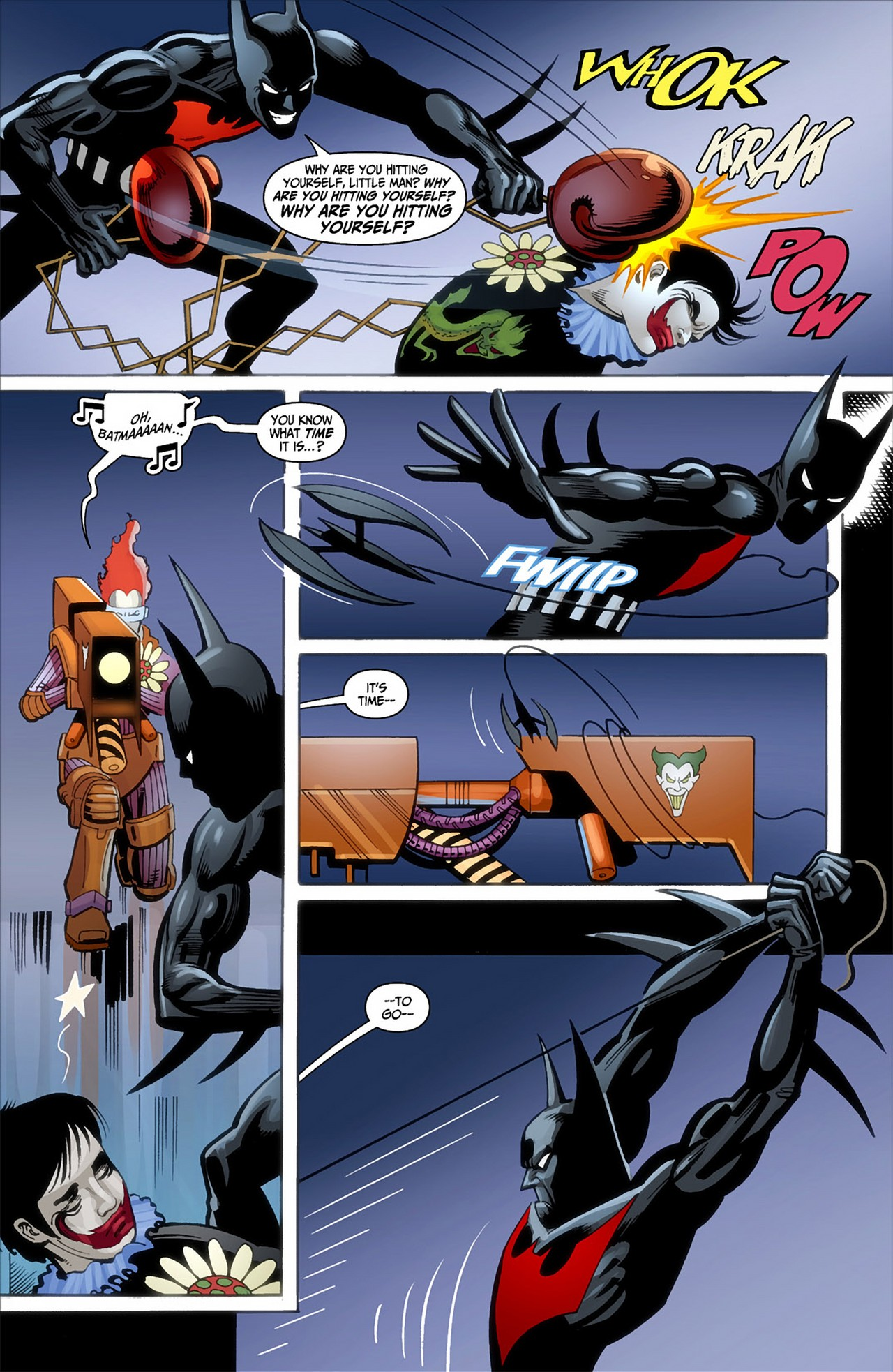 Batman Beyond (2012) Issue #1 #1 - English 7