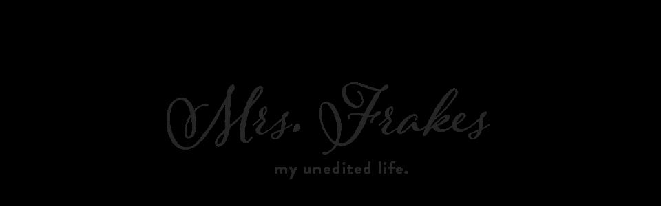 mrs. frakes
