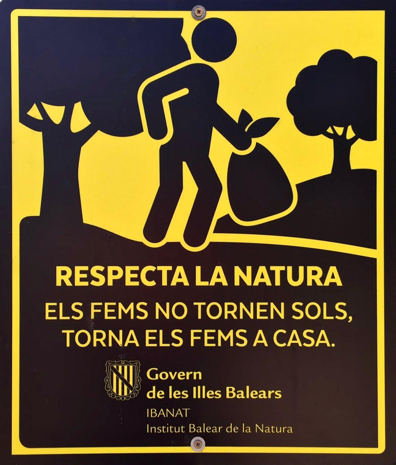 Respecta la Natura
