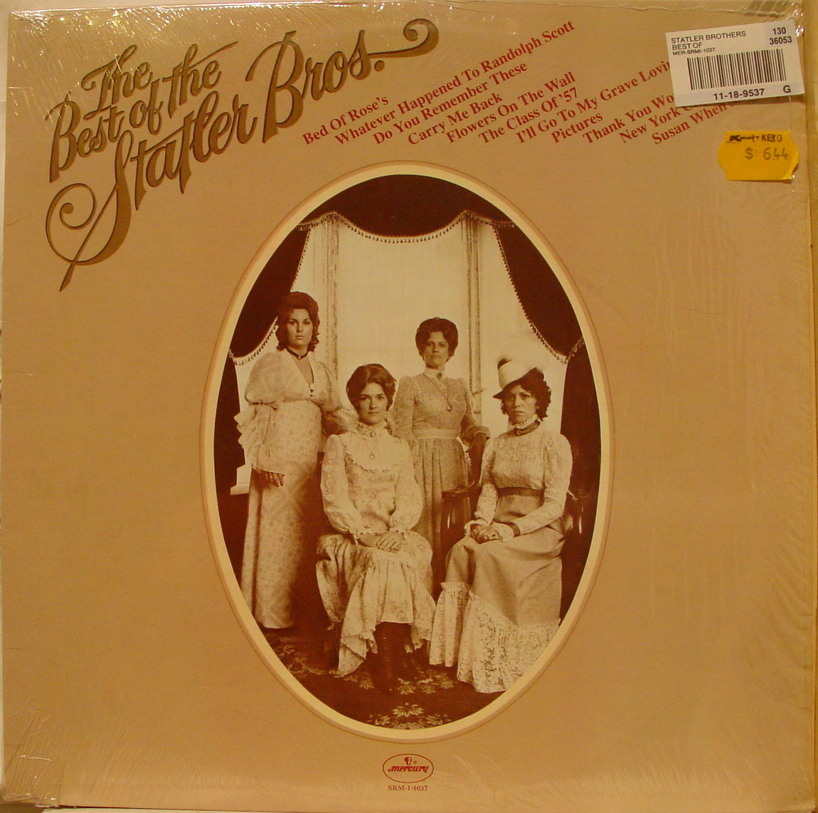 Remember Our Dumb Luck Best The Statler Brothers LP