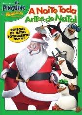 Os Pinguins de Madagascar - A Noite Toda Antes do Natal Dublado 2011