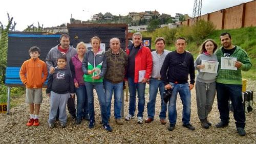 Tiro con arco Aranjuez estadio El Deleite