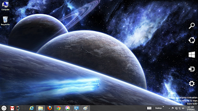 Space Galaxy Windows 8 Theme