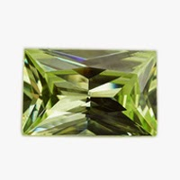 loose cubic zirconia apple green