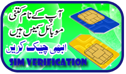 SIM Verification Online