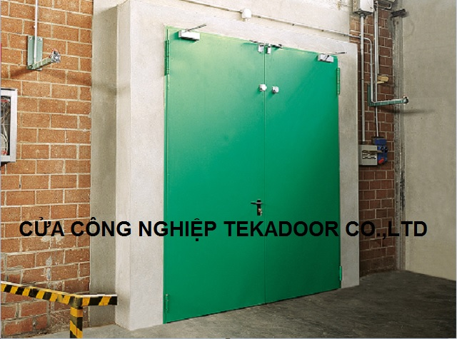 Cửa chống lửa cháy Door Exterior/Extrance Fire Door