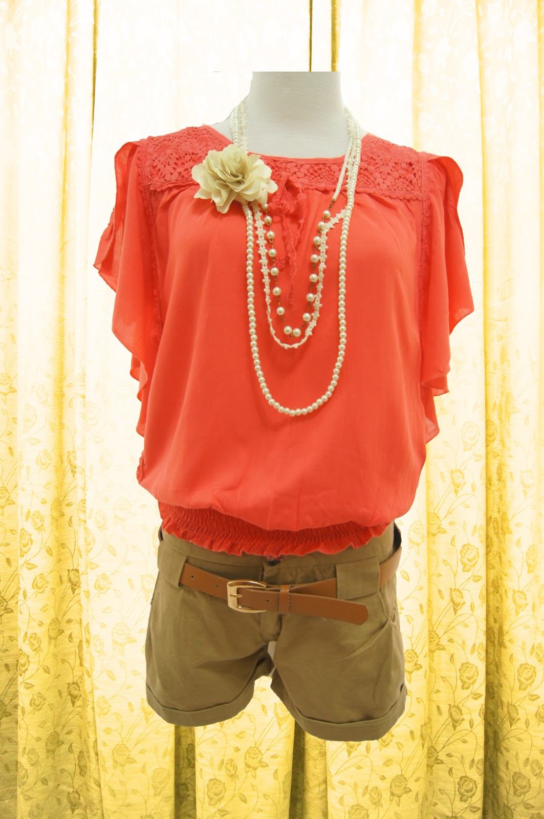 aeiloveu: Elegant Evening Blouse (TOP)