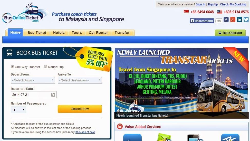 BusOnlineTicket com Senang Beli Tiket Bus Ekspress Secara Online