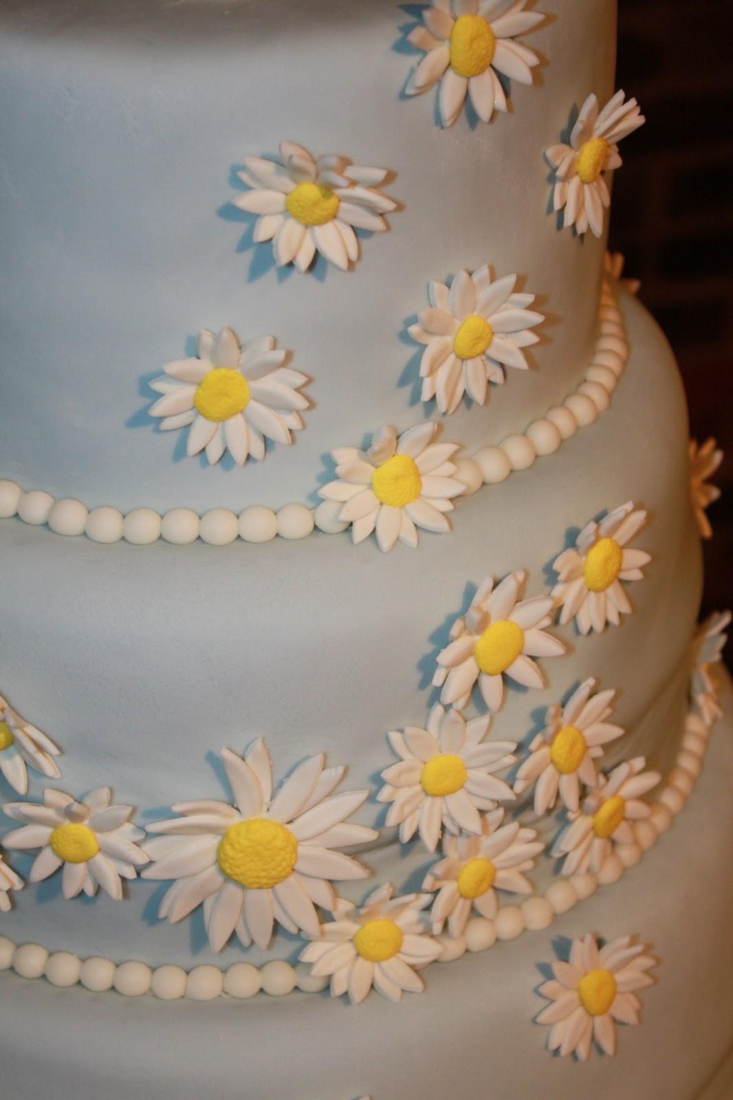 Sweet Melissa s Cakery Daisy Wedding Cake